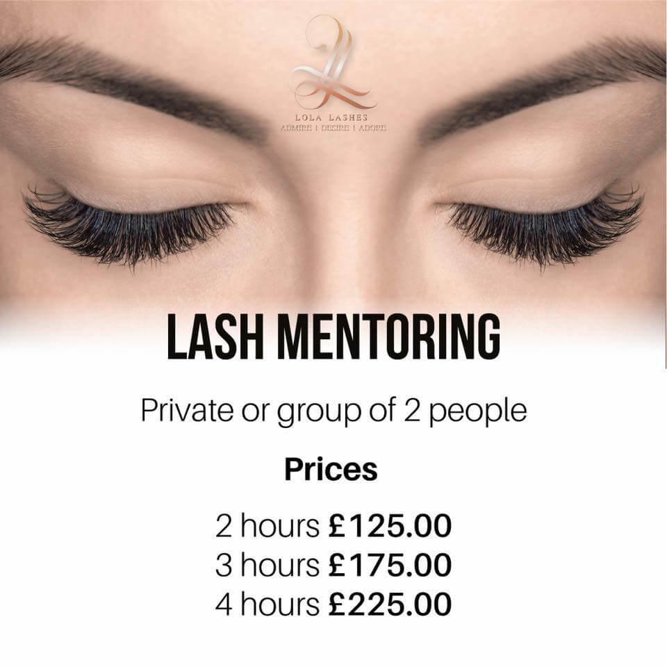 Lash mentoring